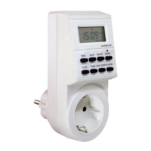 AS Schwabe Zeitschaltuhr digital IP20 Steuerung Innen Elektro genau Display NEU