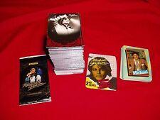 Michael Jackson 2011 Panini 190 Card Red Foil & Topp's 1984 Full Sets New