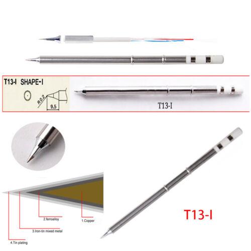 2//4//10PCS T13 Soldering Iron Tips Rework Solder Station Leadfree for BAKON 950D