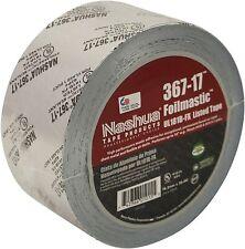 Nashua 367 17 Foilmastic Butyl Rubber Sealant Tape 3 In X 100 Ft Silver