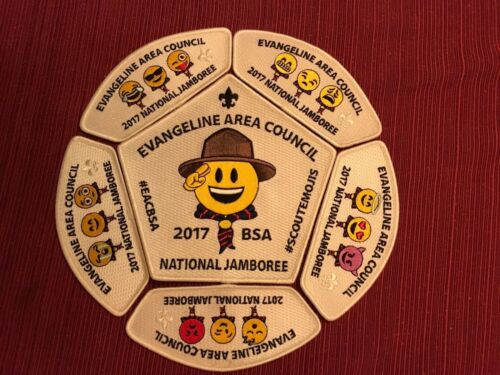 2017 NATIONAL JAMBOREE EVANGELINE AREA COUNCIL EMOJIS VERY SOUGHT AFTER