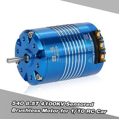 High Efficiency 540 8.5T 4100KV Sensored Brushless Motor for 1/10 RC Car L4I3