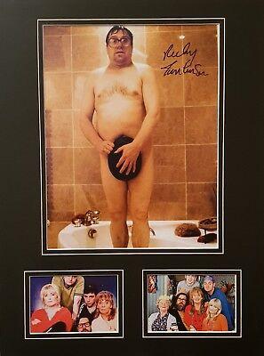RICKY TOMLINSON Signed 16x12 Photo Display THE ROYLE FAMILY COA