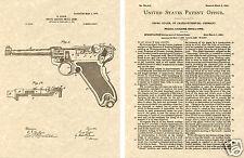 Gun Pistol US PATENT of SIG SAUER SILENCER Art Print READY TO FRAME!!!!