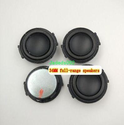 1pcs 36mm 4Ω 3W Full-range Speaker Loudspeaker TV Video Home Audio parts 4ohm