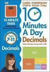 10 Minutes a Day Decimals by Carol Vorderman (Paperback, 2015)