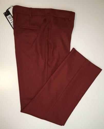 M/&S AUTOGRAPH  Straight Leg Trousers  /'Russet/' PRP £59