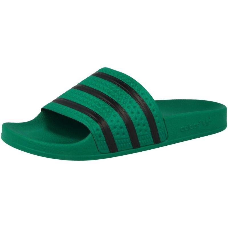 Adidas Adilette Bagno Scarpe Sandalo Uomo Originals Scarpe Green Black Cm8443