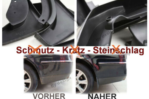 VW Touran Caddy MUDGUARD 2006-2010 Parà spruzzi NUOVO schmutzabweiser lamiera di protezione