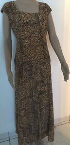 Womens Multi Color Jones New York 2 Piece Top and Skirt Set Sleeveless Sz 14