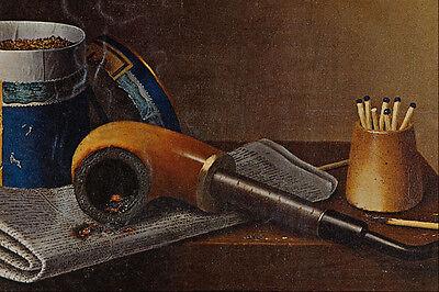 Popular Brand 564064 Smoking Scene William Michael Harnett A4 Photo Print Art
