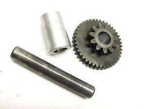 1983-YAMAHA-83-YTM200-YTM-200-YTM200EK-TRI-MOTO-24W-START-CLUTCH-IDLER-1-GEAR
