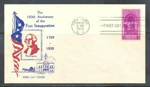 US-Stamp-L160-Scott-854-Used-Nice-First-Day-Cover
