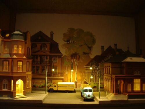 Hausbeleuchtung Modellbahn LED-Beleuchtung 3mm b Glühlampenlicht 50 LEDs