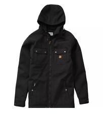 Billabong Mens Matt Field Parka Jacket Black Large
