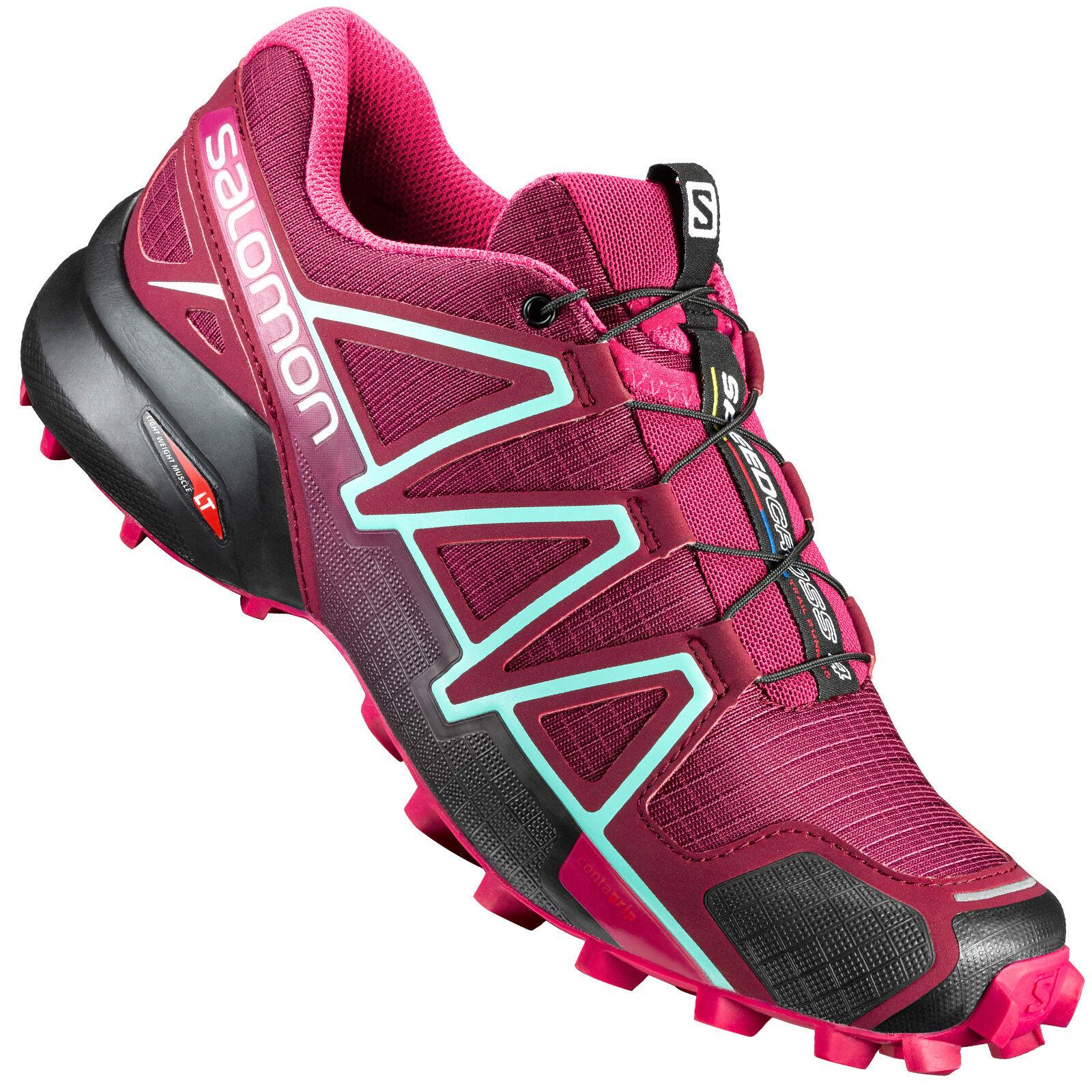 Salomon Speedcross 4 W Damen-Laufschuhe Cross-Schuhe Cross-Schuhe Cross-Schuhe Outdoor Hiking-Schuhe NEU b75768