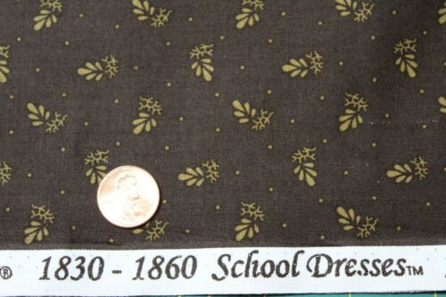 "1800/'s /""SCHOOL DRESSES/"" REPRODUCTION QUILT FABRIC BTY FOR MARCUS 7550-0113"