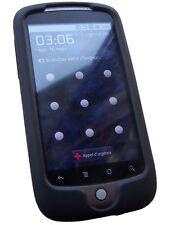 Housse silicone noire HTC Legend
