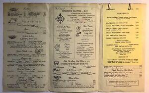 Vintage-1964-Hogate-039-s-Seafood-Restaurant-Dining-Menu-Washington-DC