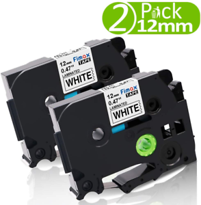 Equivalent Brother 12mm TZe Tape Use for Brother P-Touch H101TB H101C 1080 1000