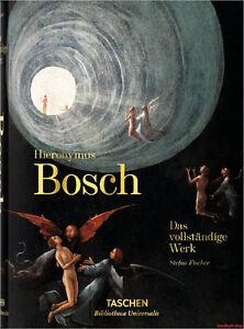 Fachbuch-Hieronymus-Bosch-Das-vollstaendige-Werk-tolles-Buch-mit-vielen-Bildern