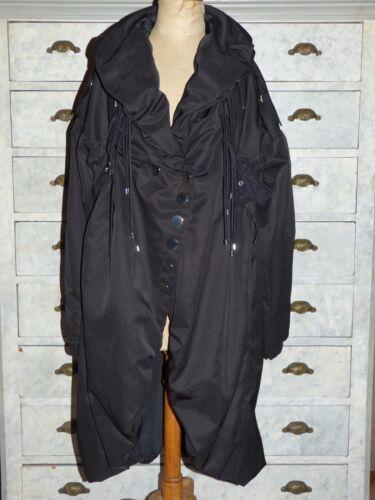 I 36 F Piumino Alto Ccc 42 27 Usa D Nuovo 38 T Usa Cappotto Condizione Nero 8UPYqA