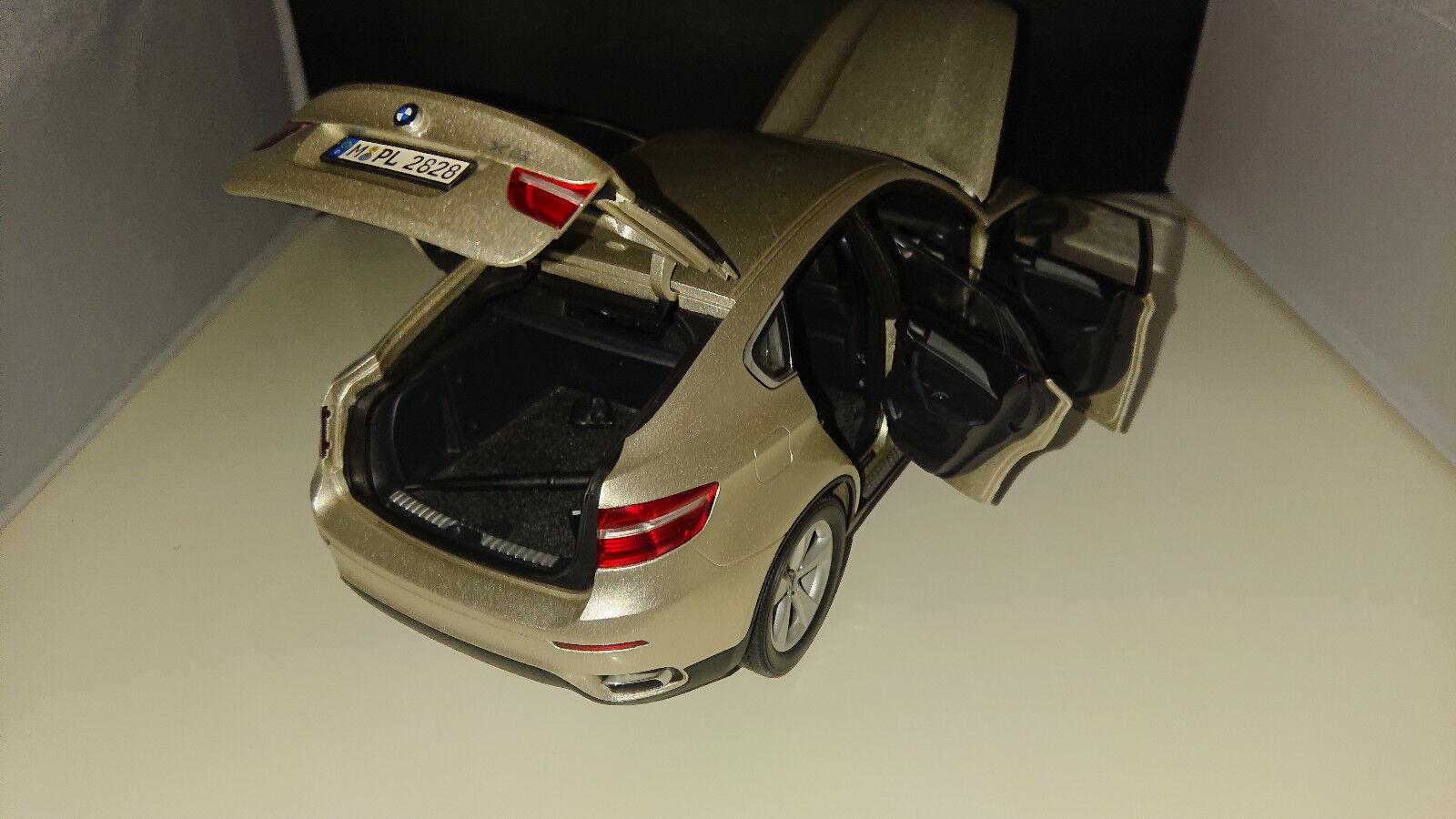 1 18 KYOSHO BMW x6 5,0 v8 argentoO e71 minerale argentoO v8 METALLIZZATO ac6b12
