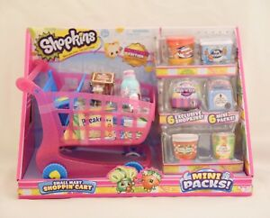 Shopkins-Collectors-Edition-Shoppin-039-Cart-Small-Mart-6-exclusive-shopkins-6-mini