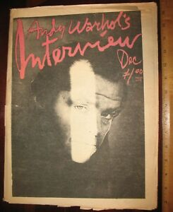 Details about Andy Warhol Interview magazine Dec  1976 Jack Nicholson,  Schwarzenegger Lou Reed
