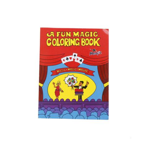 Coloring Cartoon Book Magic Books Children Magic Props Learning Painting Book JK