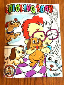 ComicBooks-For-Kids-Coloring-Book-Puppy-Cover-Box-shipped