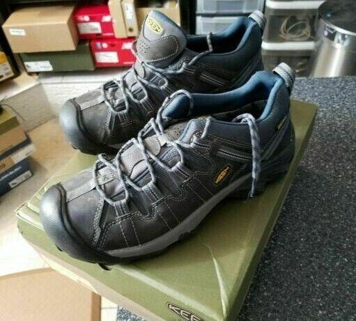 Zapatos de Cuero Keen al aire libre 1002363 Para hombre botas impermeables Targhee II de Carretera Senderismo