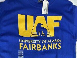 ProSphere Men/'s University of Alaska Fairbanks Gameday Shirt Apparel UAF
