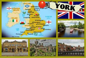 Details about YORK, ENGLAND, UK - SOUVENIR NOVELTY FRIDGE MAGNET, SIGHTS on york in europe, newcastle upon tyne, york city, wayne county nc highway map, york middle school, new york water map, guy fawkes, york britain, new york interstate 84 map, yorkshire map, york county map, toledo map, edinburgh map, york tourist map, southern district of new york map, york minster, england's map, york on map, new york new jersey pennsylvania map, york virginia map, york maine map, new york weather forecast map, york lancaster map,