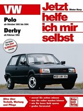 VW Polo Derby 1981-1994 Jetzt helfe ich mir selbst Reparaturanleitung Buch Book