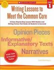 Writing Lessons to Meet the Common Core, Grade 1 by Linda Ward Beech (Paperback / softback, 2013)
