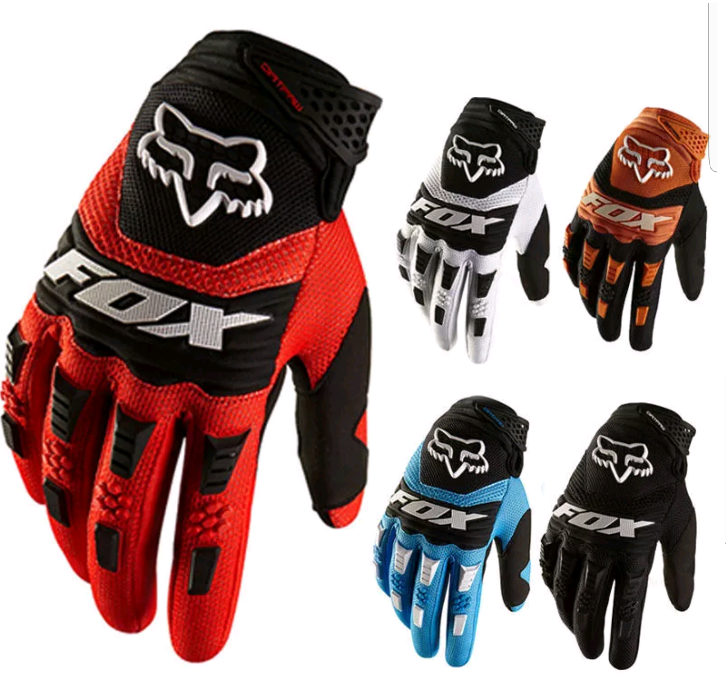 Bicycle Cycling Full Finger Glove Racing Motorcycle Gloves BMX MTB Bike Riding