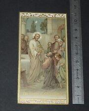 CHROMO 1920-1929 IMAGE PIEUSE CATHOLICISME HOLY CARD RELIGION JESUS CHRIST