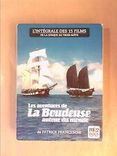 COFFRET 5 DVD / PATRICE FRANCESCHI / AVENTURES DE LA BOUDEUSE AUTOUR DU MONDE