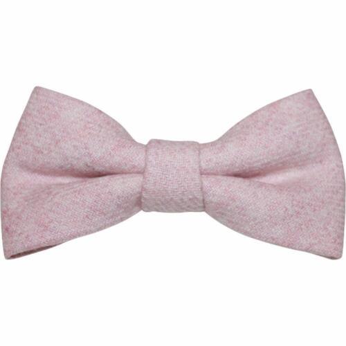 Bretelle corrispondente e vintage rosa blush Lana Cravatta a Farfalla Set Bambini Bambini Ragazzi