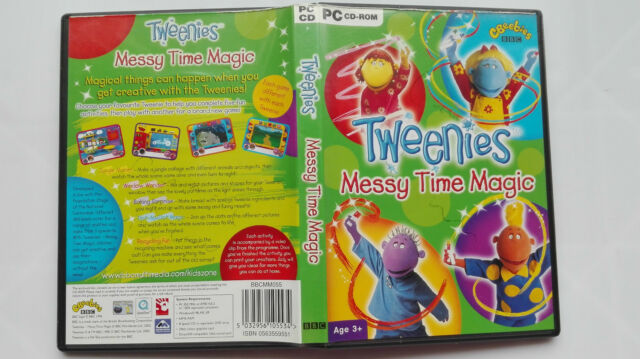 Tweenies: Messy Time Magic PC GAME disc UK BBC CBEEBIES TRIED AND TESTED WORKING