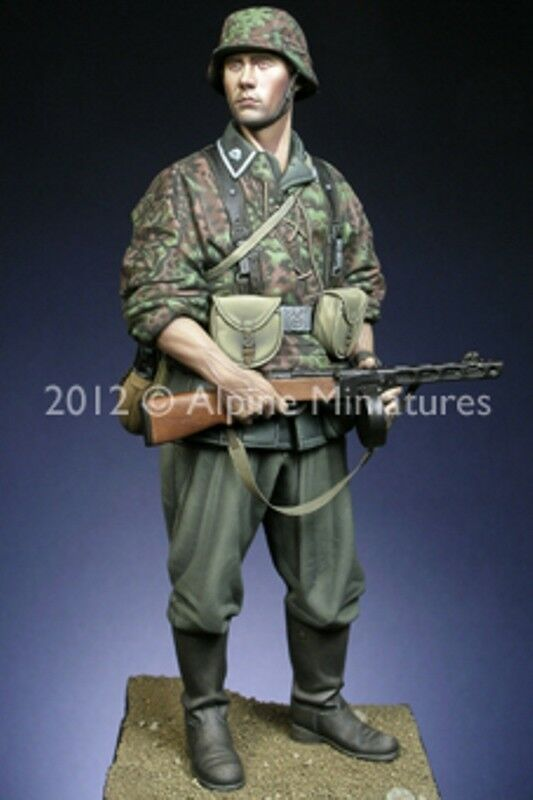 Alpine Miniatures, Totenkopf Grenadier, NIB, 1 16th Scale (120mm), Kit 16016