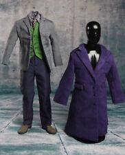 IN STOCK 1/6 Joker Heath Ledger Costume Suit Set For DX01 DX11 Hot Toys