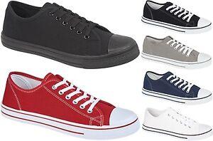 Mens-Canvas-Baseball-Shoes-Plimsolls-Casual-Fashion-Trainers-Pumps-Baltimore