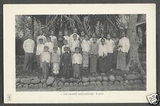 Sunda Soenda Girls Costume Batik Java Indonesia 20s