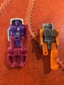 Vintage G1 Transformers Decepticon Headmasters Ape face Powermaster Parts Lot