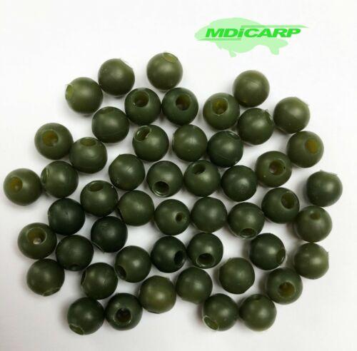 High impact shock beads carp fishing rigs soft rubber stop Buffer