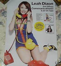 Leah Dizon Communication! Japan Promo Poster A