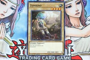 1st Edition Near Mint YUGIOH x 3 Zombino Common MP18-EN169