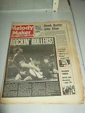 MELODY MAKER 1975 MAY 3 BAY CITY ROLLERS JEFF 'SKUNK' BAXTER BARRY WHITE